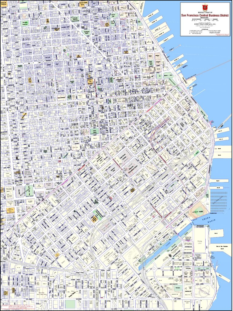 San Francisco Central Business District, Standard Version